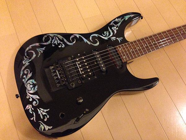 ギター インレイ ステッカー