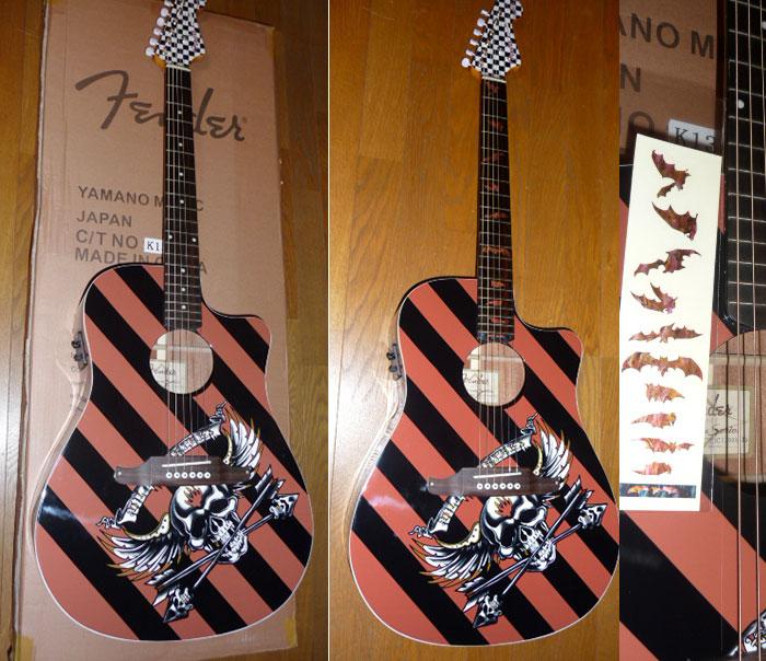 Duane Peters Fender/アコースティック・ギター