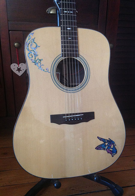 butterfly Inlay Decal