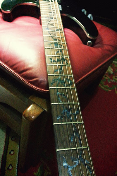 yamaha rgx a2.neck inlay