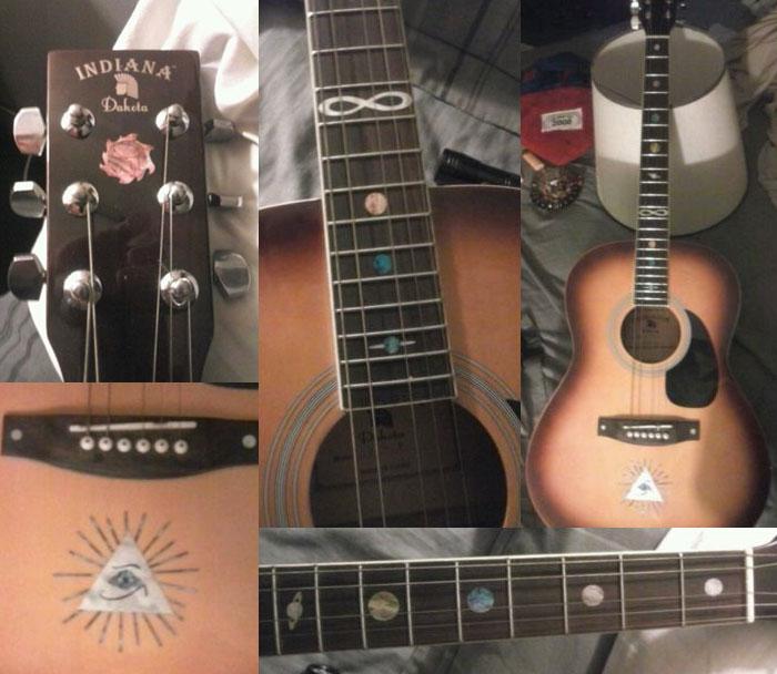 mystic acoustic guitar