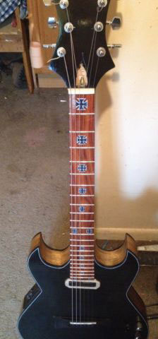 Iron Cross Neck inlay