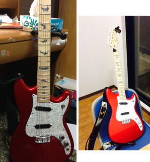 Squier/Duo Sonic Candy Apple