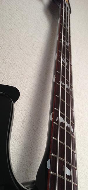 ギター サイドにポジションマーク