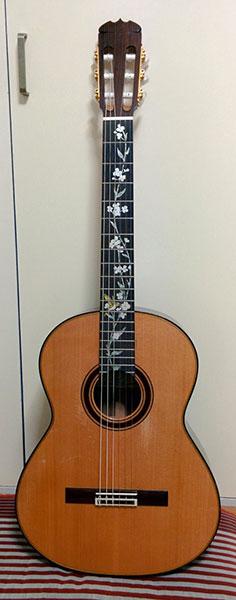 クラシックギター ポジションマーク