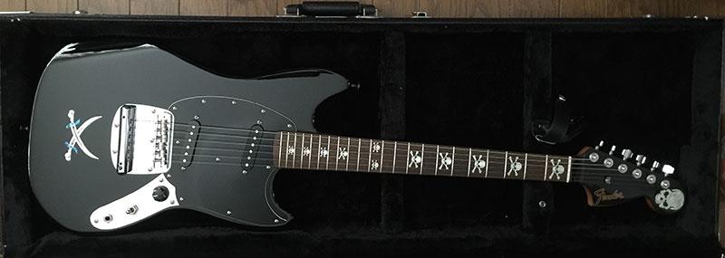 Fender Mustang Hyde Skull