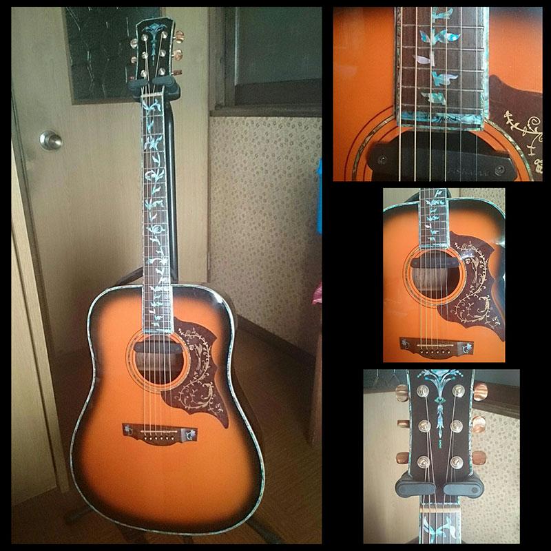 バインディング ギター
