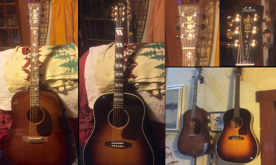 Martin D17m Gibson J45 Koa