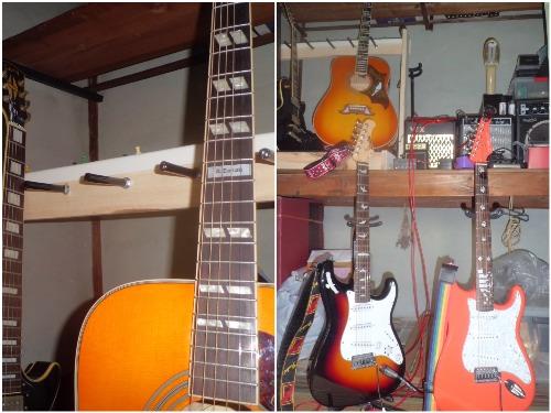 ギター 改造 ネーム入れ