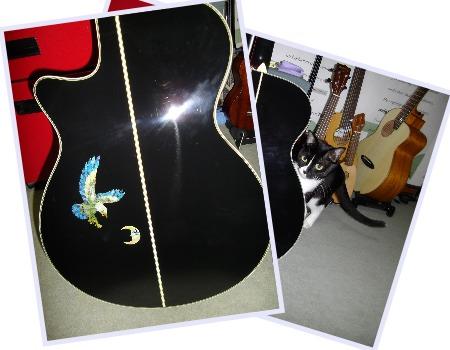 ギター 傷隠し ステッカー