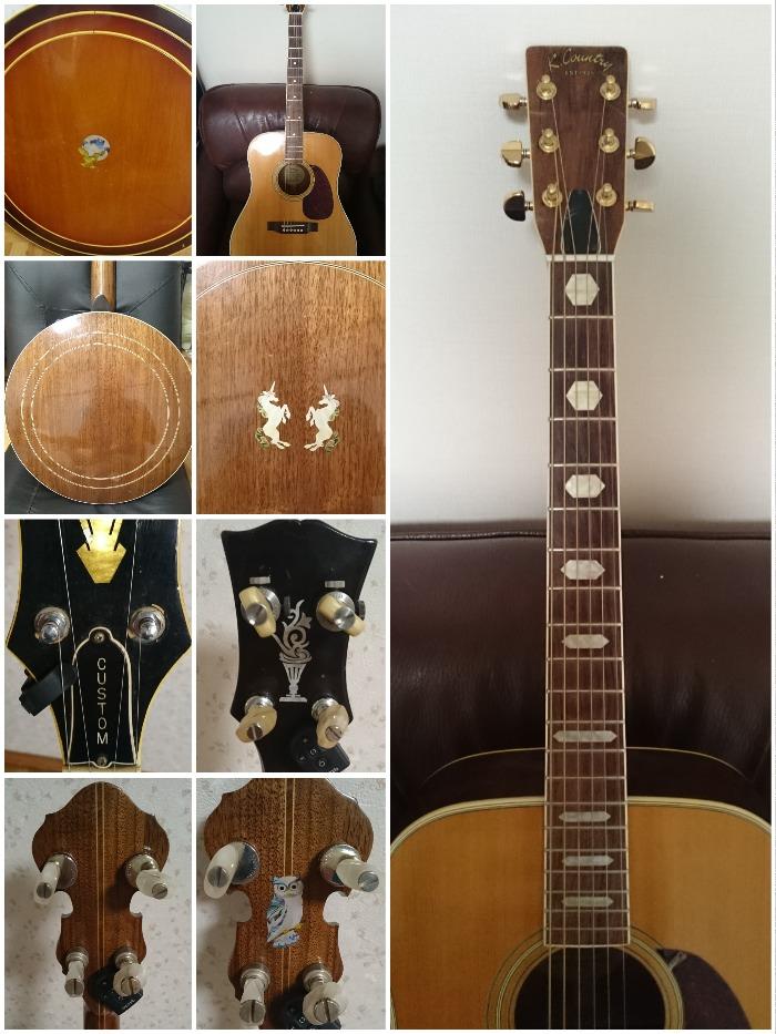 ギブソン60年代,RB-250,Banjo