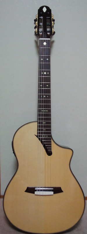 Martinez MSCC-14 RS with Snowflakes fret markers inlay decal