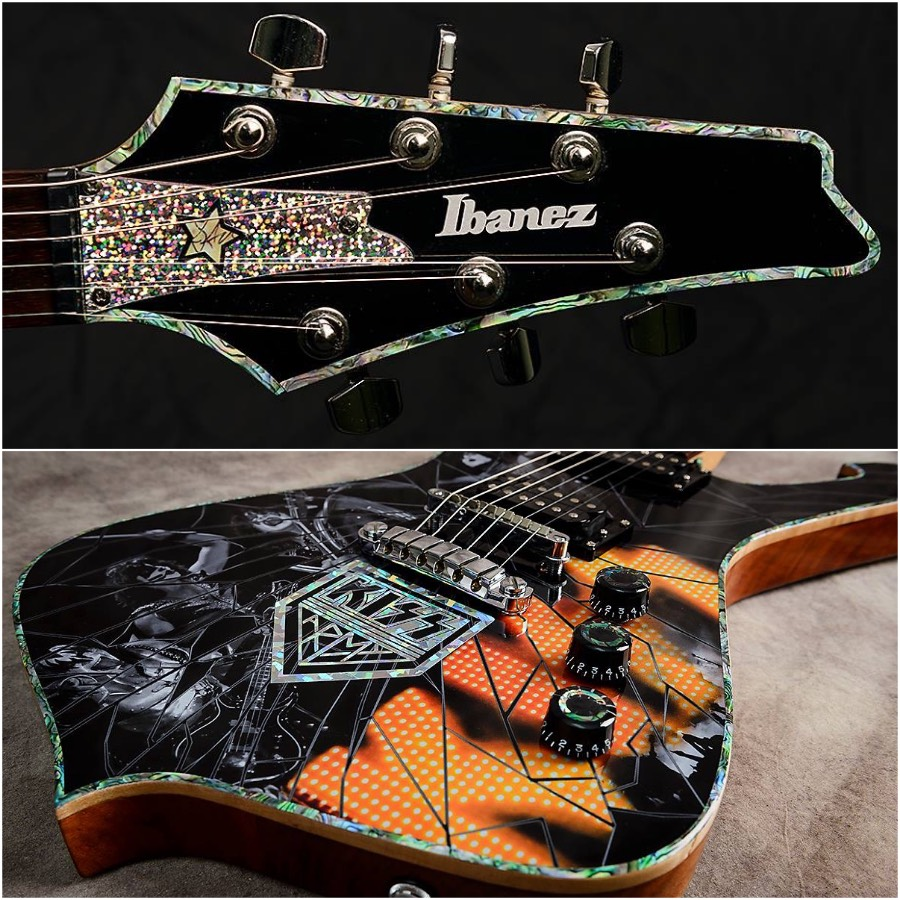 abalone binding was the perfect finishing touch on my KISS tribute Ibanez Iceman