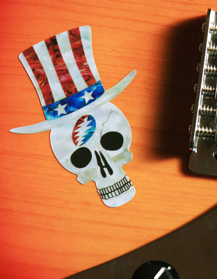 Garcia Top Hat Skull