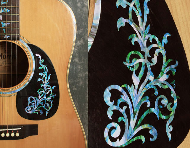 abalone inlay martin guitar