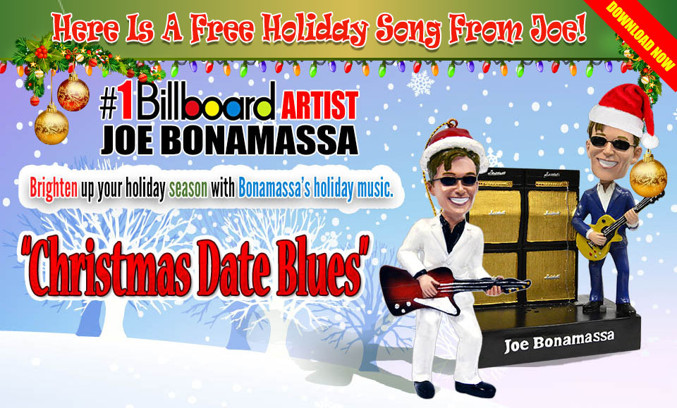 free download joe bonamassa 2013 christmas song christmas date blues - Blues Christmas Songs