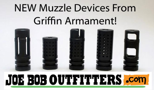 NEW Griffin Muzzle Devices & Rings, Seekins Gas Blocks & More Now In Stock! - Sponsor Display