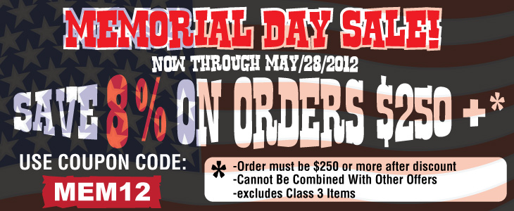 JoeBob's Memorial Day Sale! - Sponsor Display