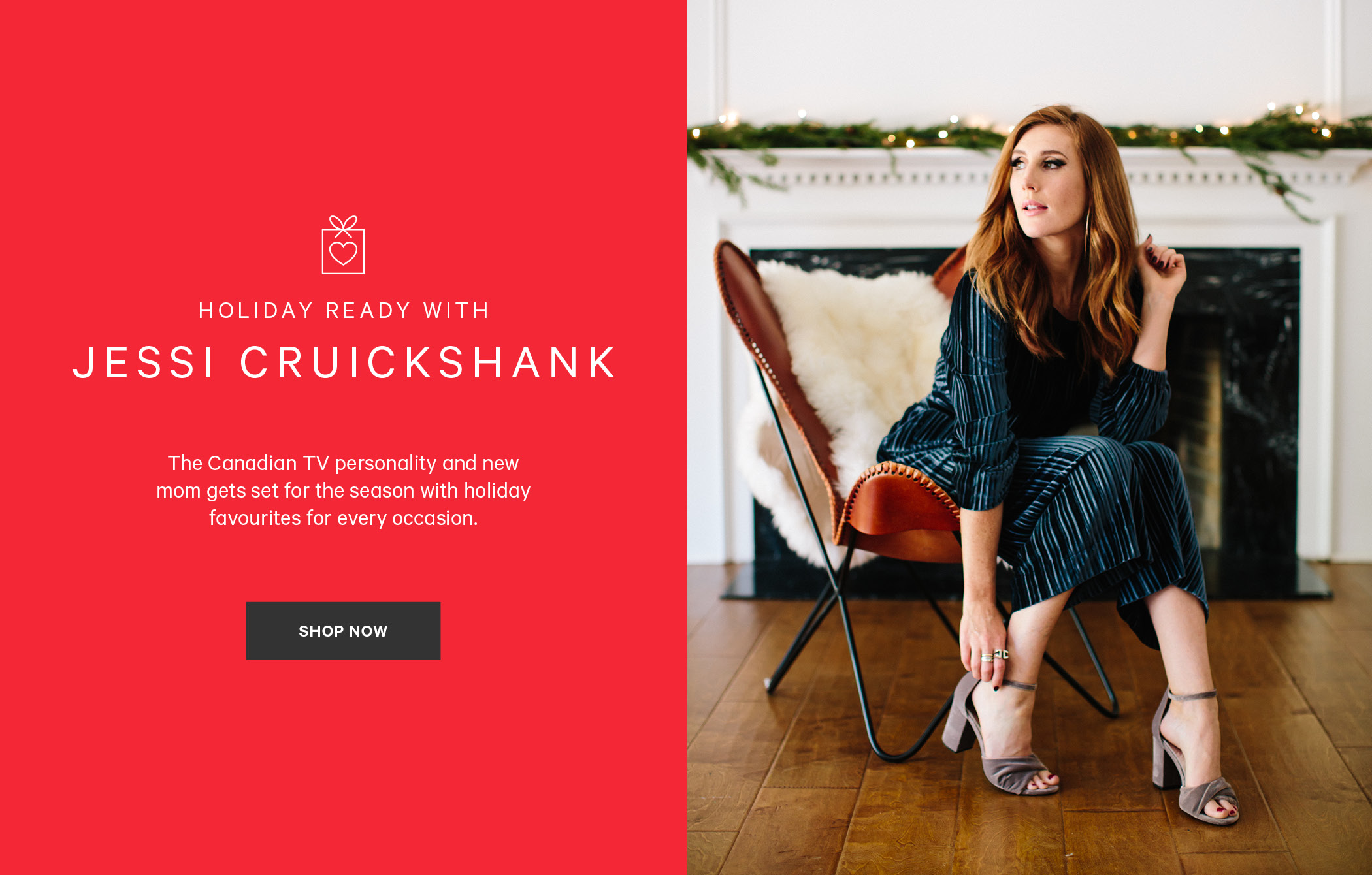 Holiday Ready with Jessi Cruickshank. Shop now