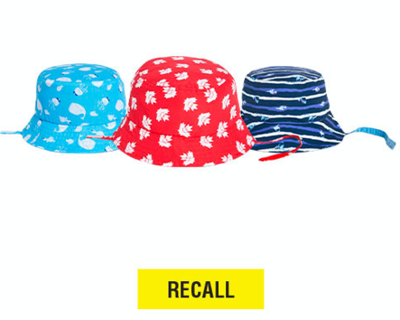 VOLUNTARY RECALL OF JOE FRESH® TODDLER, BABY GIRL AND BABY BOY SUN HATS