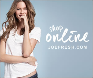 Shop Online - JoeFresh.com