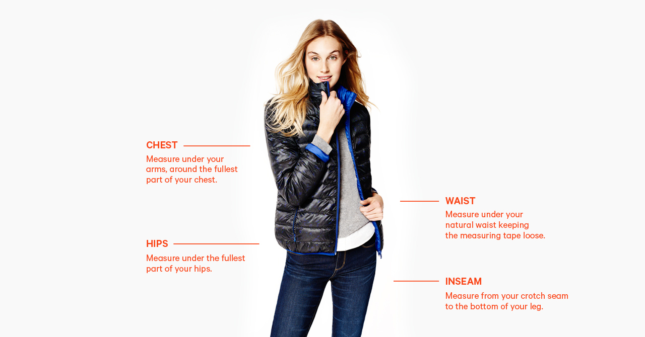 Size Chart | JOEFRESH US