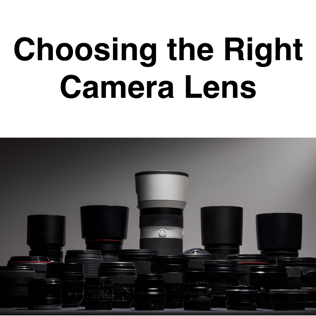 Choosing the Right Camera Lens