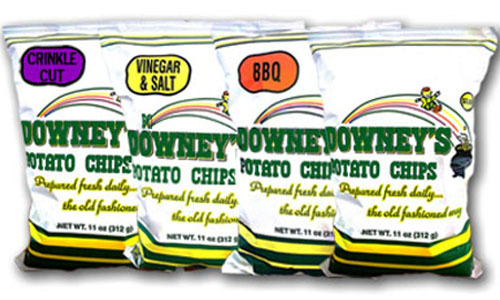 Downey's Potato Chips have been a metro-Detroit tradition since the 80s.