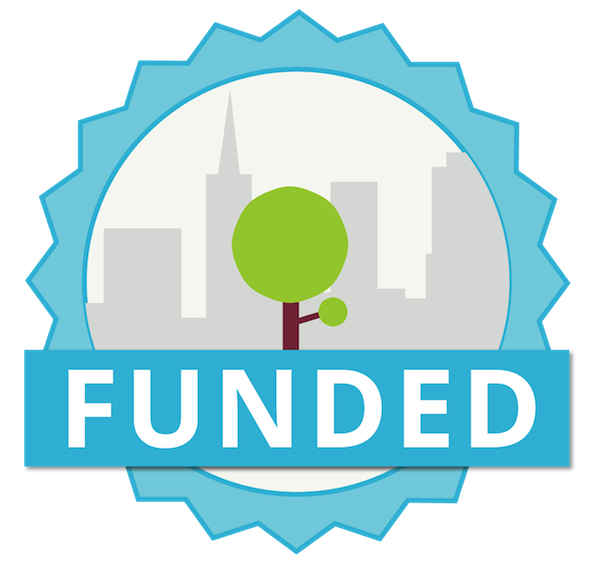 Funded badge
