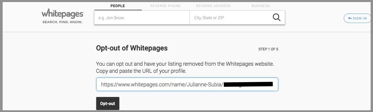 whitepages opt out whitepages removal whitepages premium