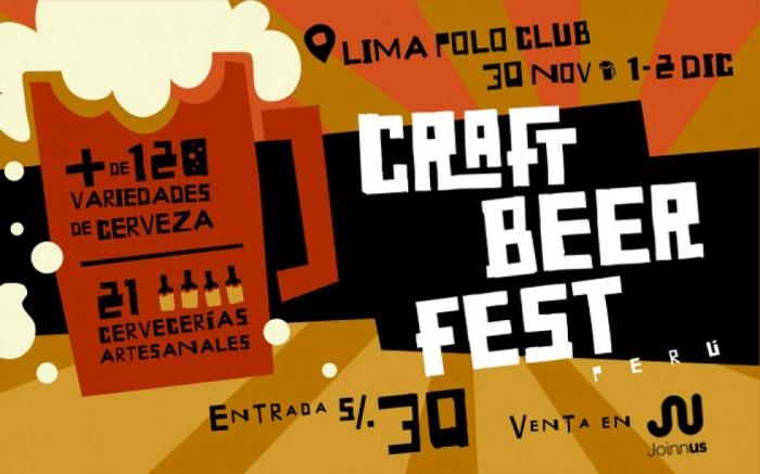 CRAFT BEER FEST PERÚ / Comidas y bebidas / Joinnus