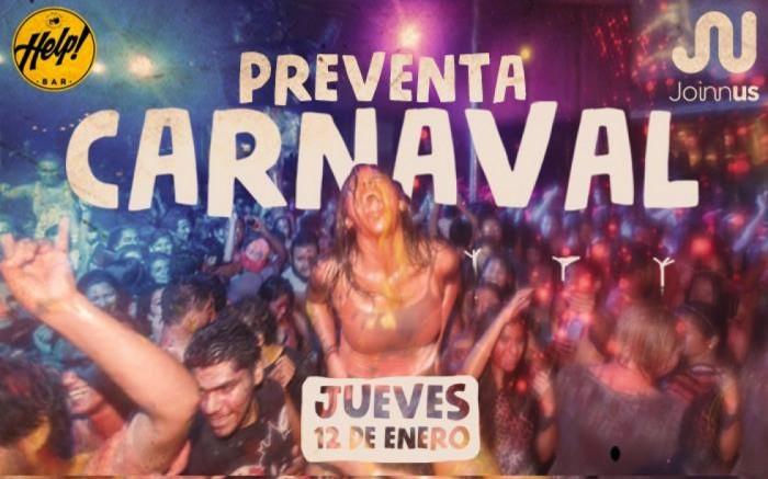 HELP! Bar Pre Venta Carnaval2017 / Entretenimiento / Joinnus