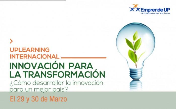 UPLearning Internacional Innovación para la Transformación / Charlas y conferencias / Joinnus