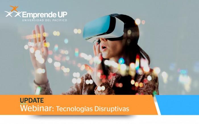 UPDate: Webinar Tecnologías Disruptivas / Charlas y conferencias / Joinnus