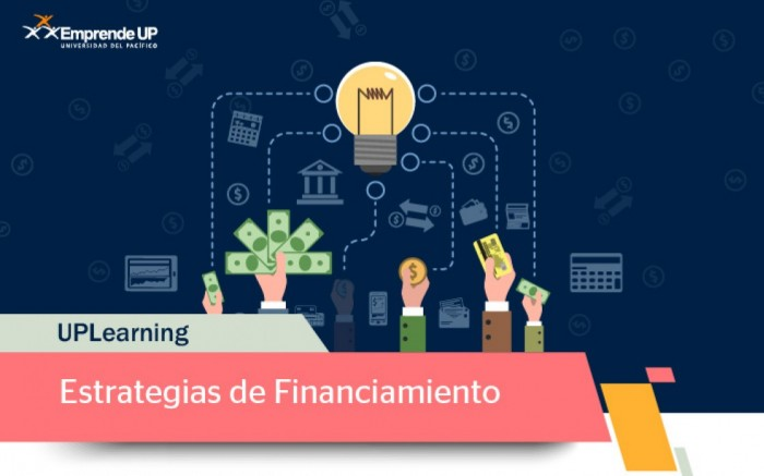 UPLearning Estrategias de Financiamiento para Startups / Charlas y conferencias / Joinnus