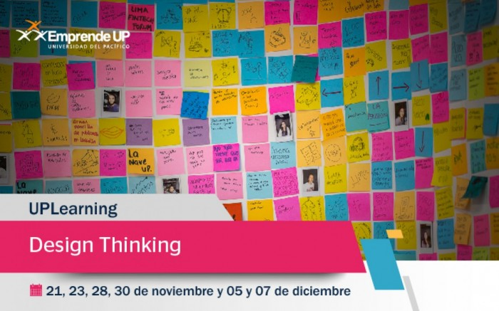 UPLearning Design Thinking / Charlas y conferencias / Joinnus