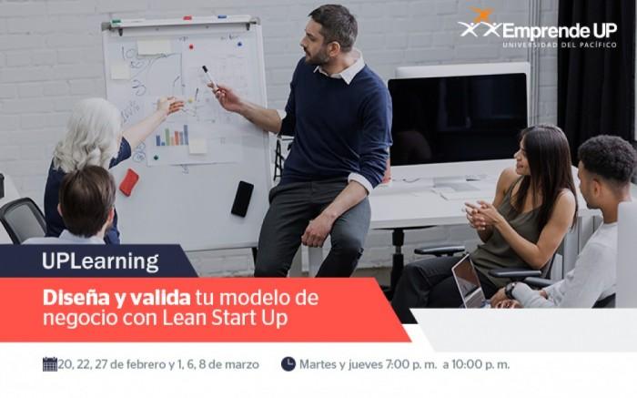 Diseña y valida tu modelo de negocio con Lean StartUp /  / Joinnus