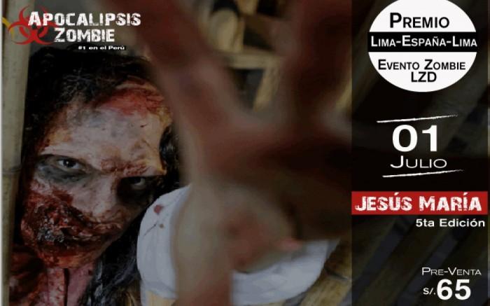 Apocalipsis Zombie Jesús María /  / Joinnus