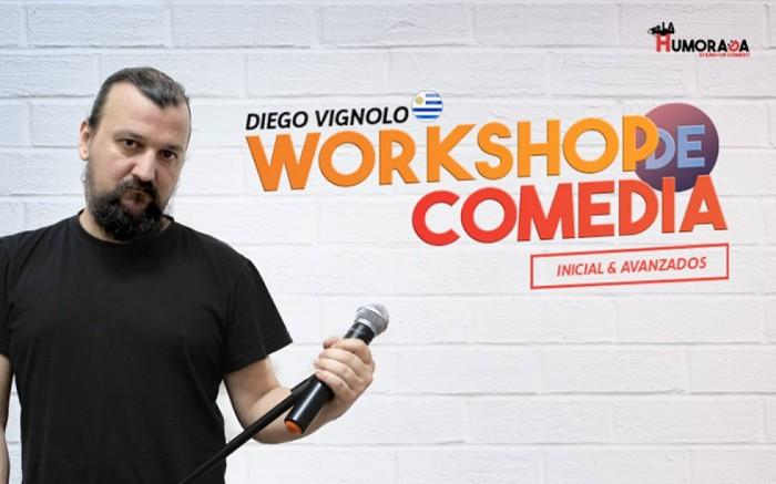 Workshop de comedia stand-up /  / Joinnus