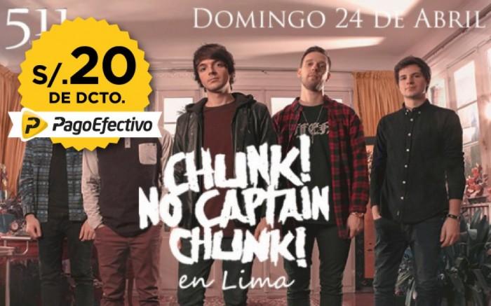 Chunk! No, Captain Chunk! en Lima /  / Joinnus