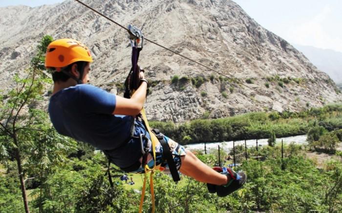 Aventura en Lunahuana (Rafting, Canopy, cuatrimoto, Rapel) / Viaje y aventura / Joinnus