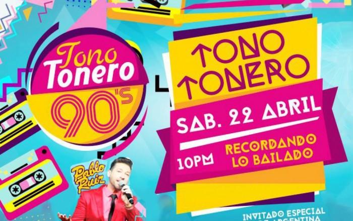 TONO Tonero 90´S con Pablo Ruiz / Entretenimiento / Joinnus