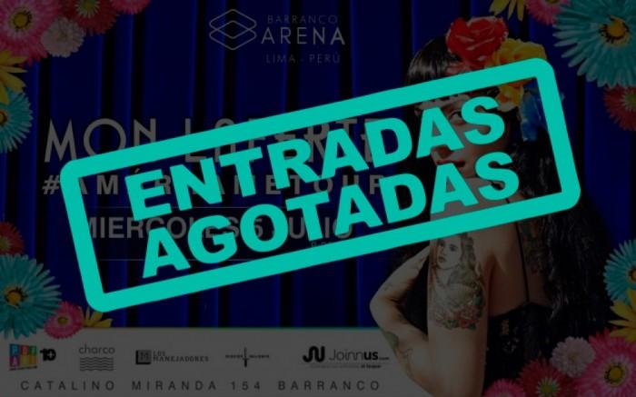 MON LAFERTE en Lima! /  / Joinnus