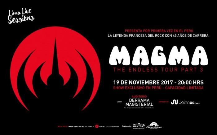 MAGMA EN CONCIERTO / Entretenimiento / Joinnus