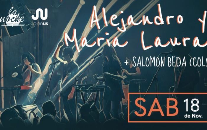 Alejandro y Maria Laura: Ultimo concierto del año /  / Joinnus