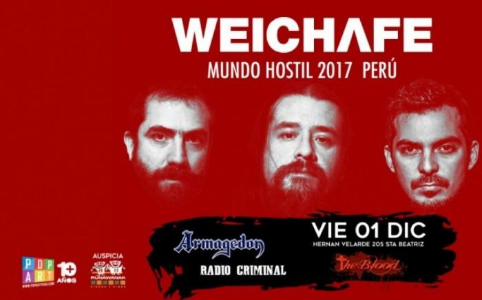 WEICHAFE (Chile) en Lima Junto a Radio Criminal & Armagedon /  / Joinnus