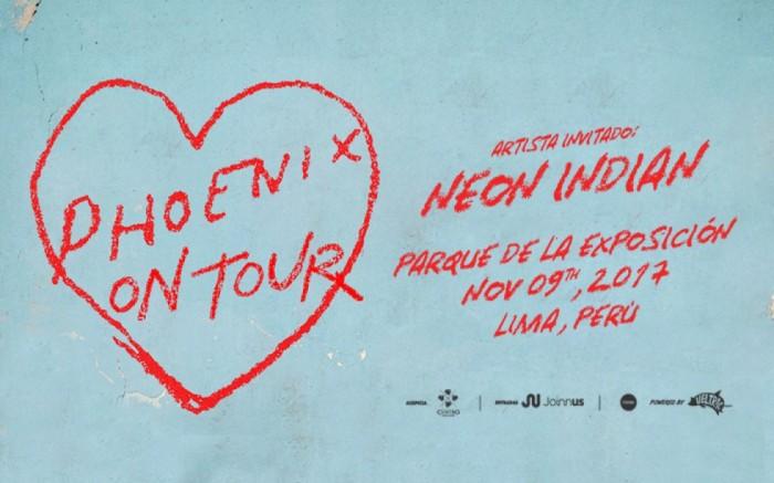 Phoenix por primera vez en Lima / Entretenimiento / Joinnus