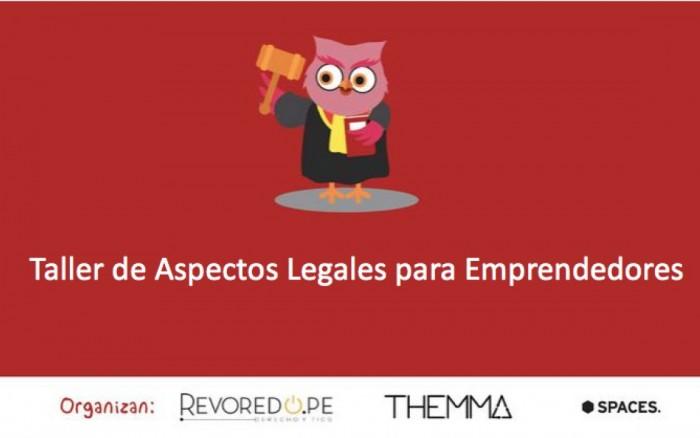 Taller de Aspectos Legales para emprendedores /  / Joinnus