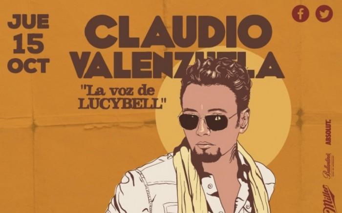 CLAUDIO VALENZUELA DE LUCYBELL @ EL DRAGÓN DE BARRANCO /  / Joinnus