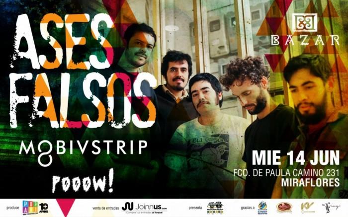 Ases Falsos en Lima // 1° Parada >> BAZAR /  / Joinnus